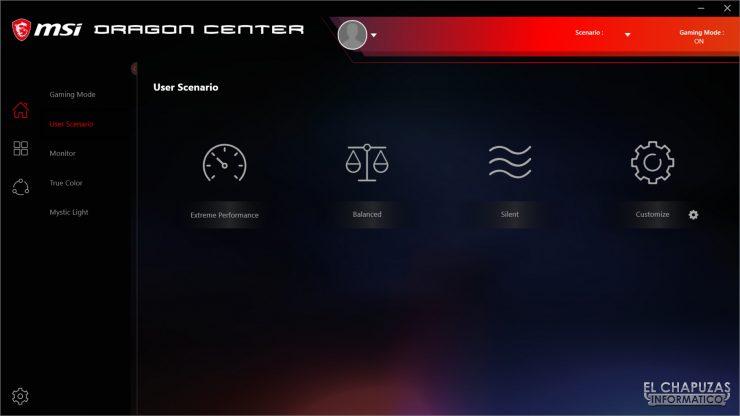 MSI MPG X570 Gaming Edge Wi-Fi - Dragon Center 4