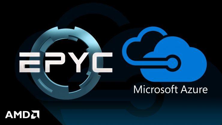 Microsoft Azure y AMD EPYC ROME