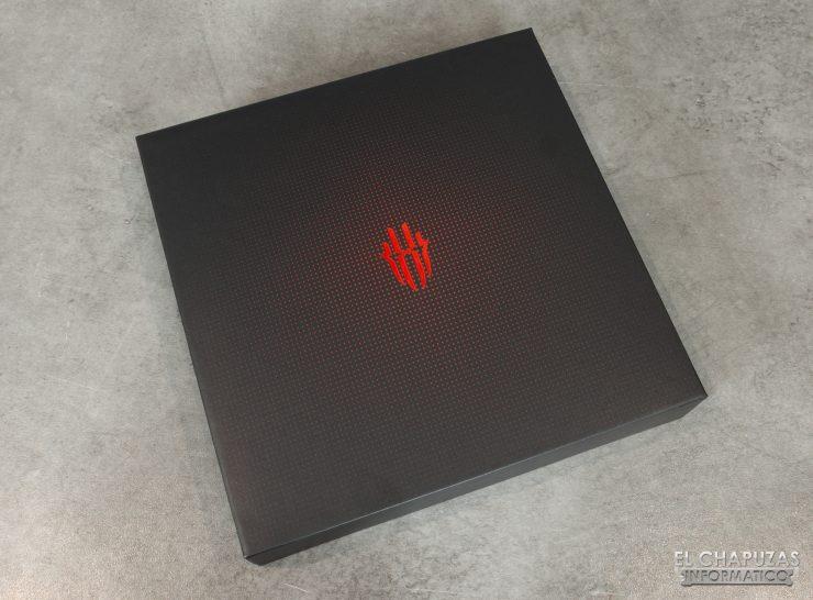 Nubia Red Magic 3S - Embalaje frontal