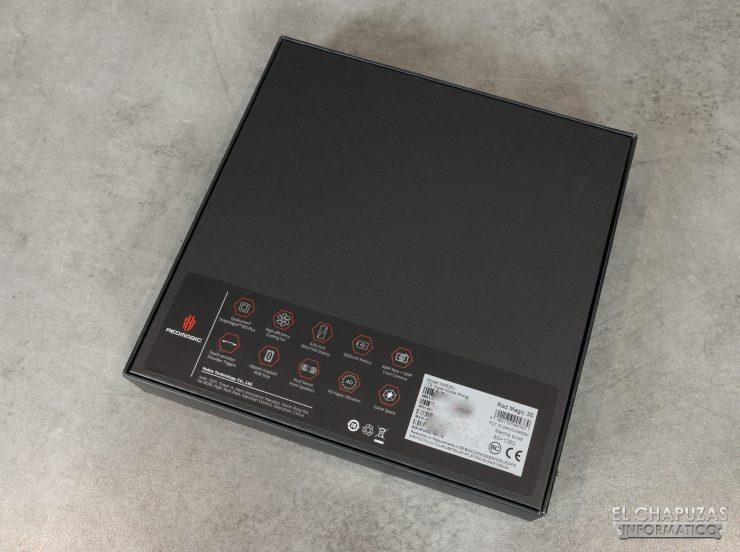 Nubia Red Magic 3S - Embalaje trasero