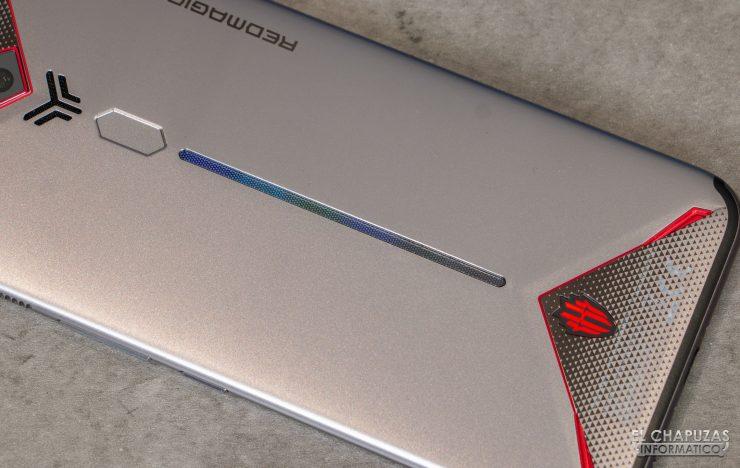 Nubia Red Magic 3S - Vista trasera - Tira LED RGB