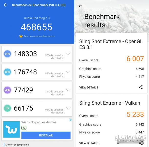 Nubia Red Magic 3S - Benchmarks
