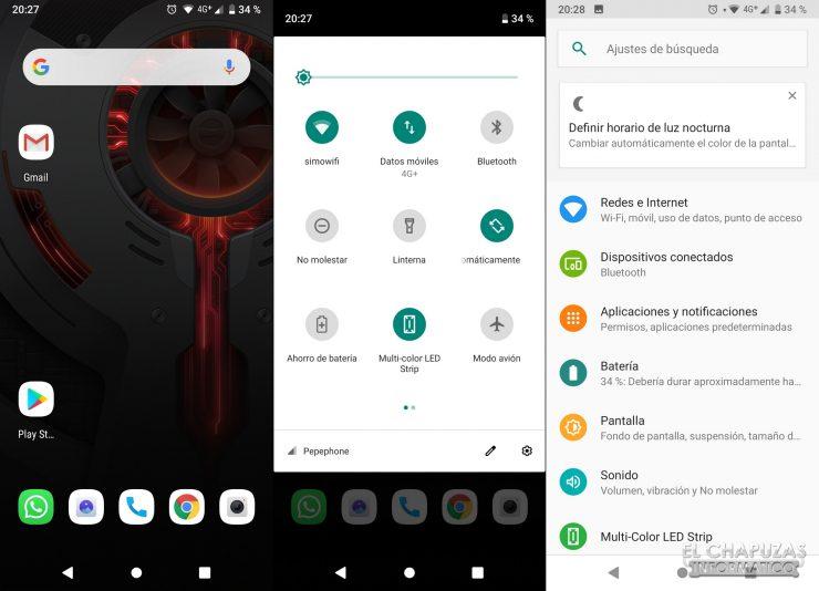 Nubia Red Magic 3S - Sistema Android 9.0