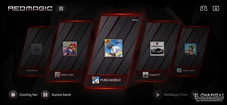 Nubia Red Magic 3S - Game Space 2.1