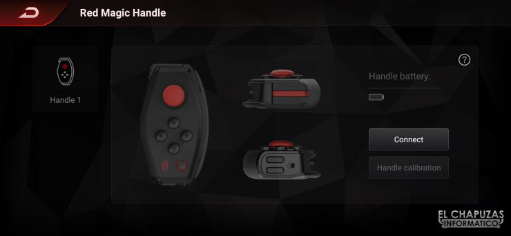 Nubia Red Magic 3S - Game Space 2.1 - Grip