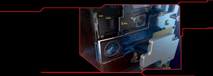 Nubia Red Magic 3S - Sistema de refrigeración líquida