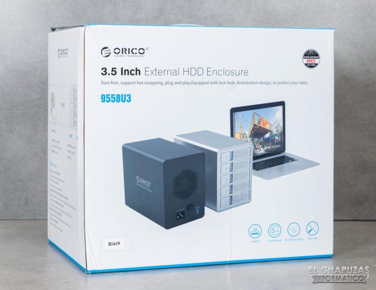 Orico 9558U3 - Embalaje exterior