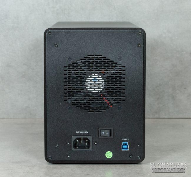 Orico 9558U3 - Vista lateral trasero