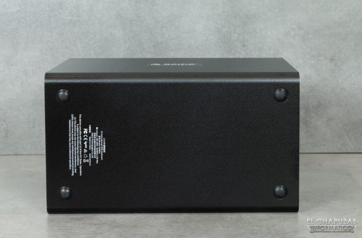 Orico 9558U3 - Vista lateral inferior