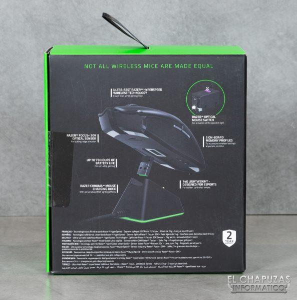Razer Viper Ultimate - Embalaje 4