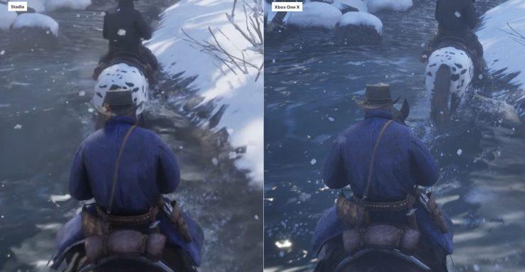 Red Dead Redemption 2 en Stadia