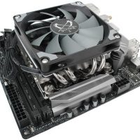 Scythe Shuriken 2: Disipador de alto rendimiento de perfil bajo para equipos Mini-ITX