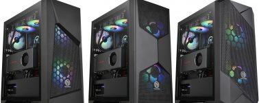Thermaltake anuncia sus nuevos chasis Commander G Series: GPU en vertical e iluminación ARGB