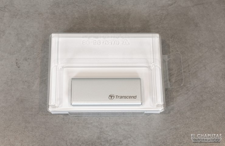 Transcend ESD240C - Embalaje interno