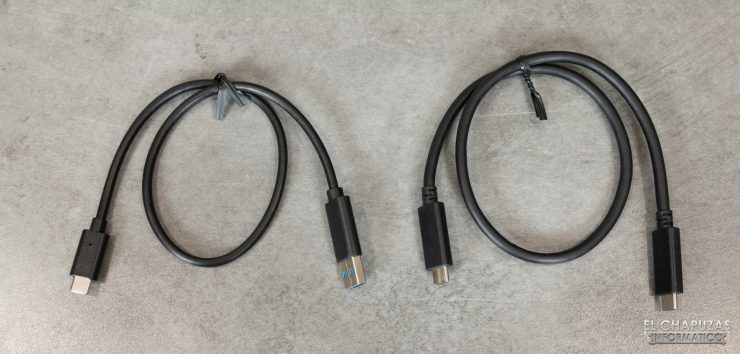 Transcend ESD240C - Cables