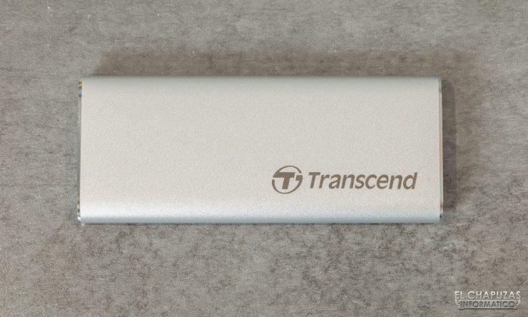 Transcend ESD240C - Vista superior