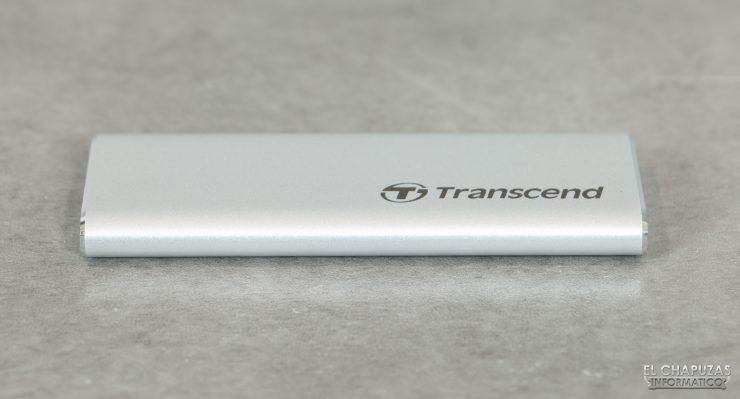 Transcend ESD240C - Vista lateral
