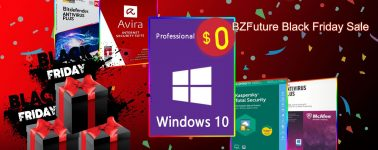 Compra un Antivirus y llévate de regalo una licencia de Windows 10, aprovecha el Black Friday