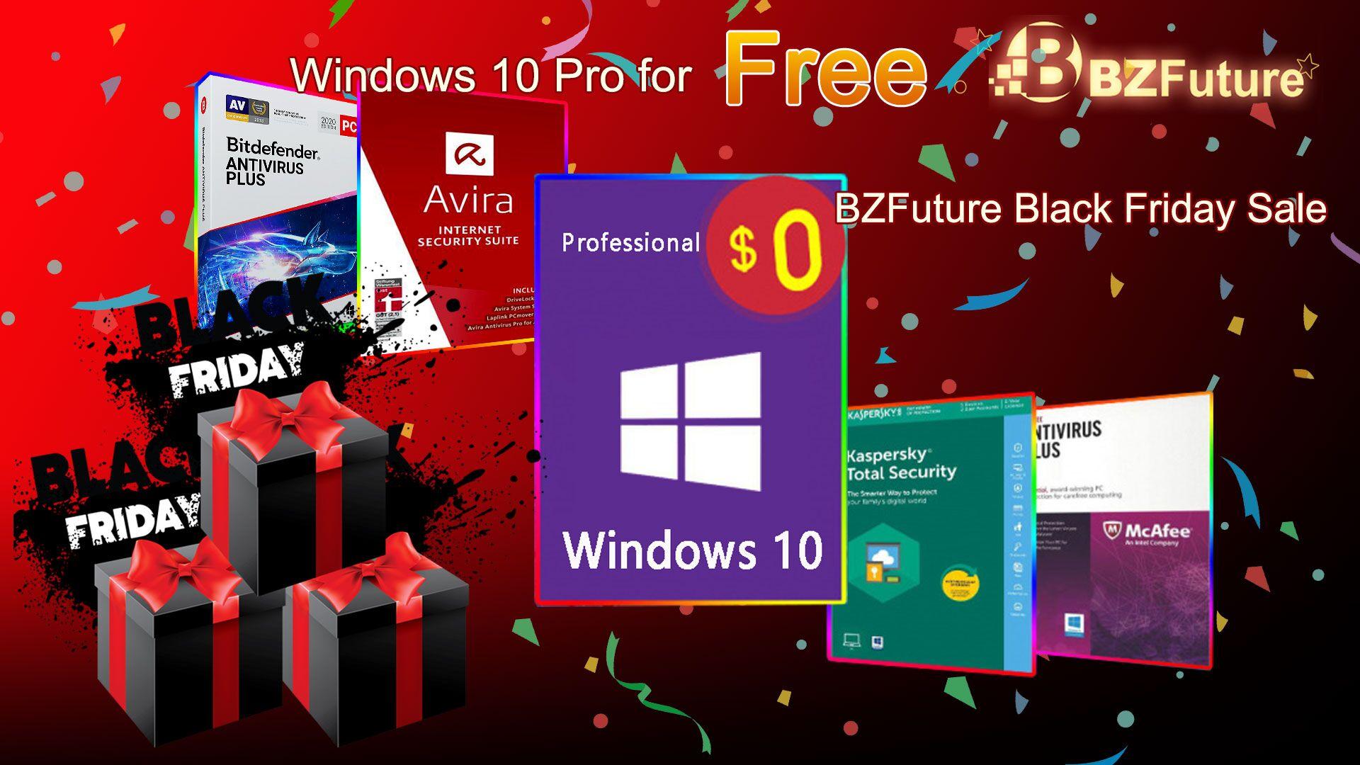 Windows 10 gratis en BZfuture Black Friday 0