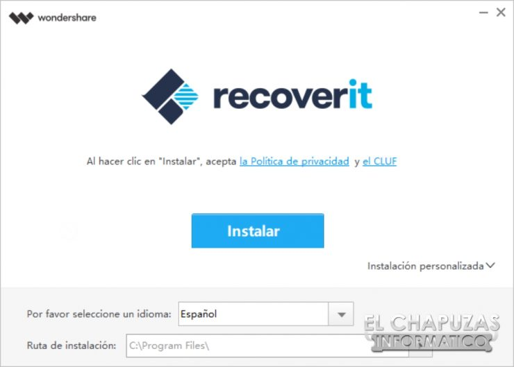 Wondershare Recoverit Pro 1