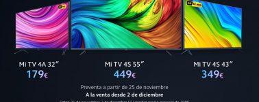 Xiaomi lanza sus Mi TV 4S en España, el modelo de 55″ costará 449 euros