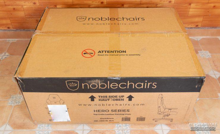 noblechairs HERO - Embalaje exterior