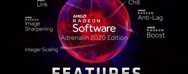 AMD lanzas sus controladores gráficos Radeon Adrenalin 20.9.1 Beta