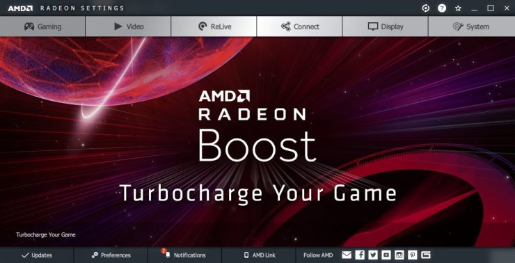 Radeon Boost