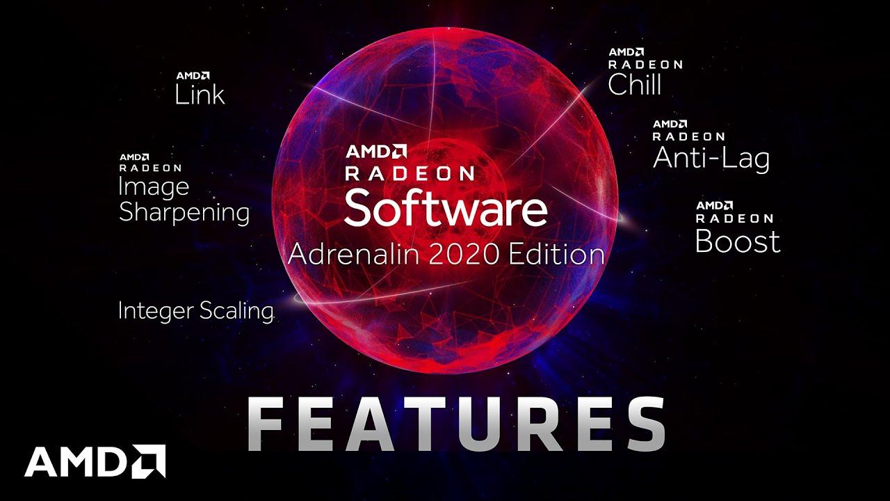 AMD Radeon Software Adrenalin 2020 0
