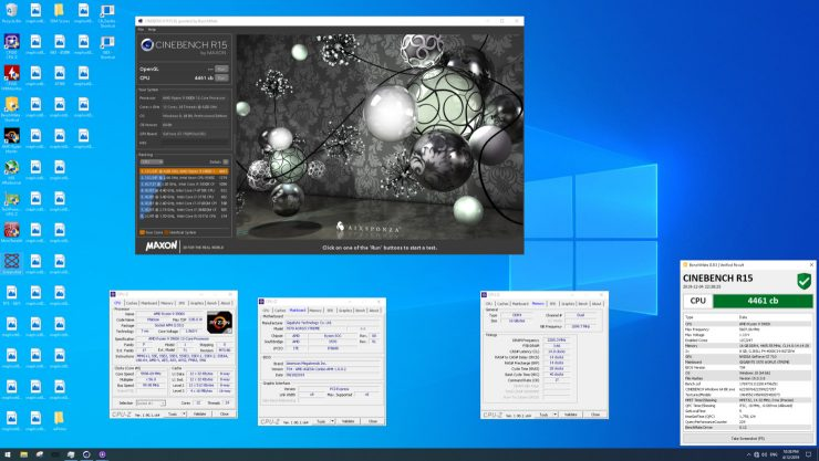 AMD Ryzen 9 3900X récord