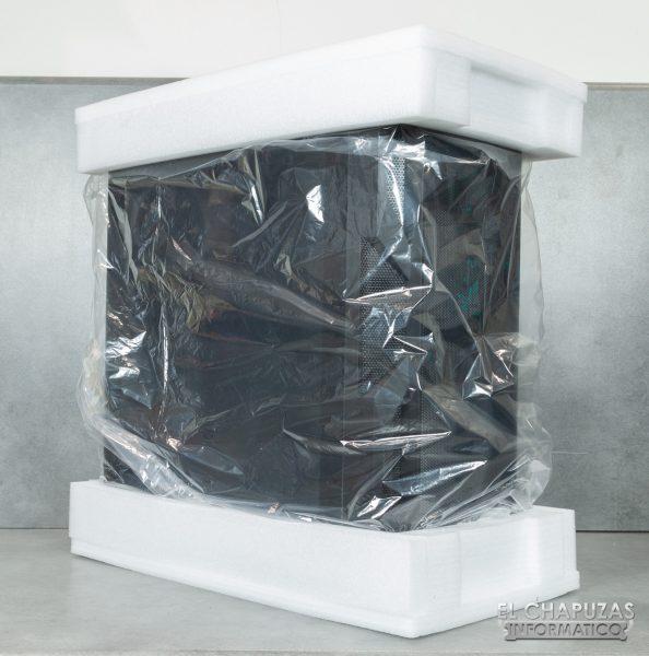 Antec NX800 - Embalaje interior