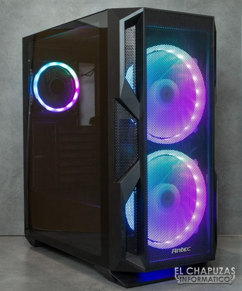Antec NX800 - Iluminada