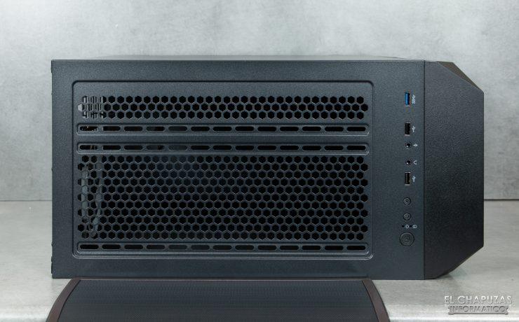 Antec NX800 - Lado superior