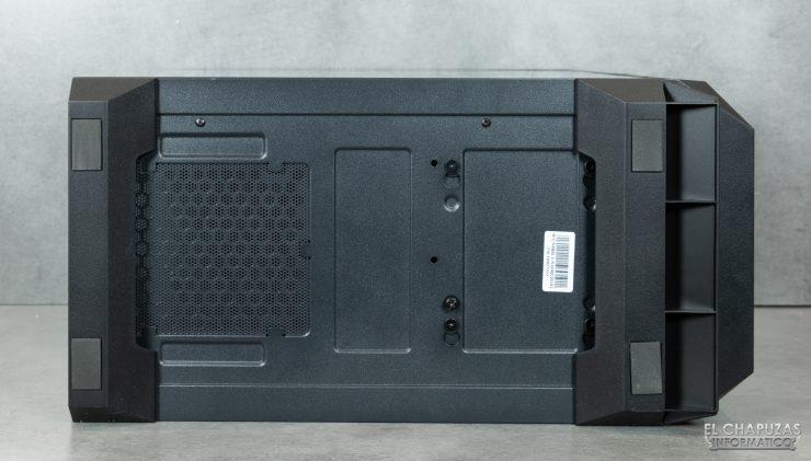 Antec NX800 - Lado inferior
