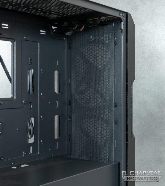 Antec NX800 - Interior - Lado frontal