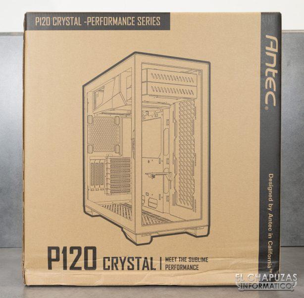 Antec P120 Crystal - Embalaje 1