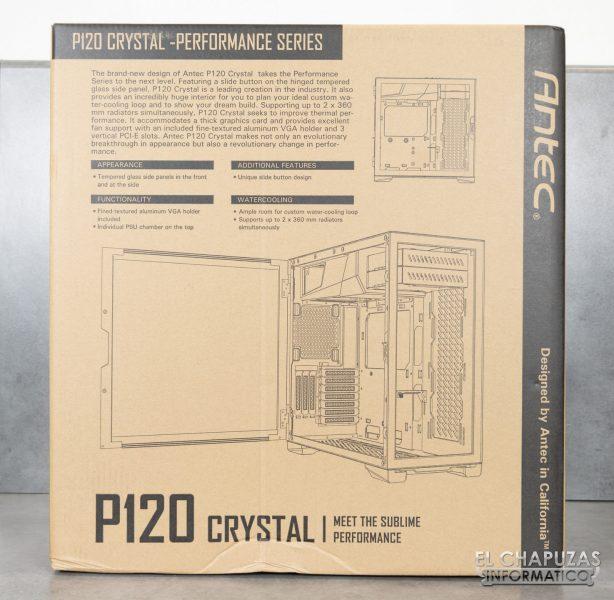 Antec P120 Crystal - Embalaje 4