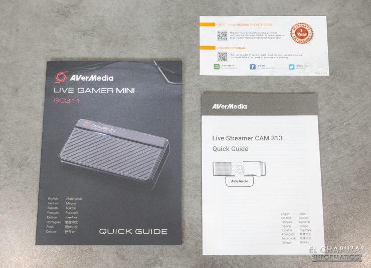 AverMedia Live Streamer DUO - Documentación