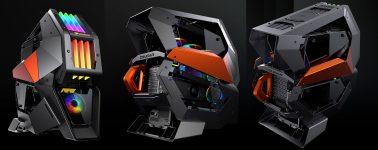 Cougar Conquer 2: Full Tower de categoría Premium con iluminación RGB