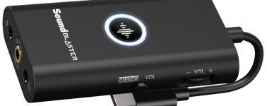 Creative Sound Blaster G3: Tarjeta de sonido para usuarios de consola compatible con PC