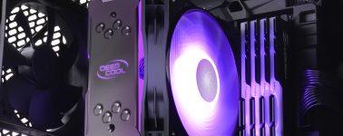 DeepCool GAMMAXX GT ARGB: Disipador ARGB para la gama media
