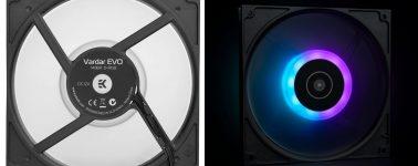 EK-Vardar EVO 140ER D-RGB: Ventiladores ARGB pero de alto rendimiento