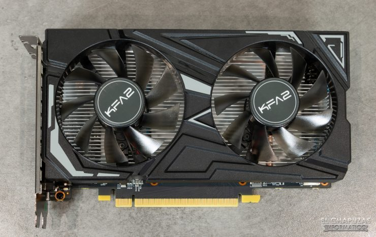 KFA2 GeForce GTX 1650 SUPER EX - Vista superior