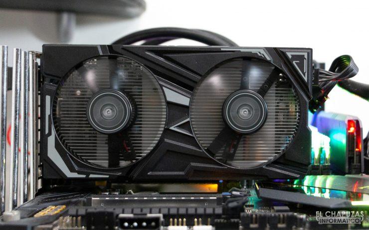 KFA2 GeForce GTX 1650 SUPER EX - Encendida