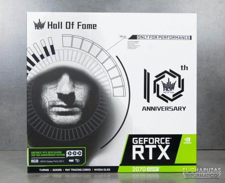 KFA2 GeForce RTX 2070 SUPER HOF 10th Anniversary Edition - Embalaje 1