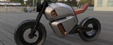 Así es la Nawa Racer, una de las motocicletas eléctricas con más autonomía