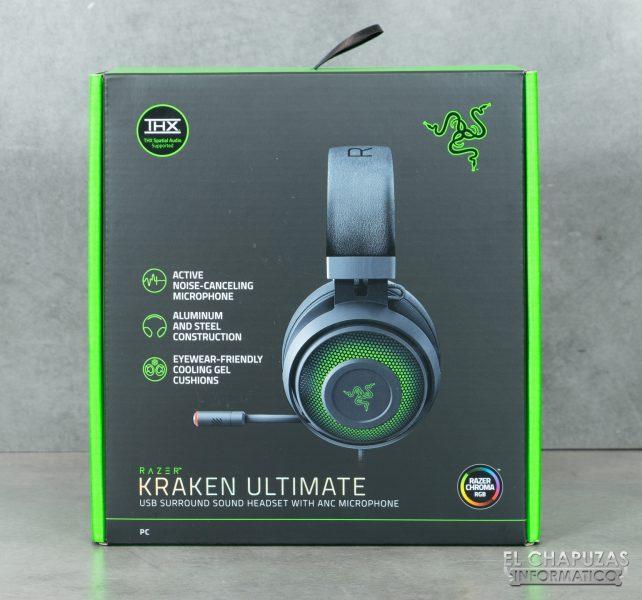 Razer Kraken Ultimate - Embalaje 1