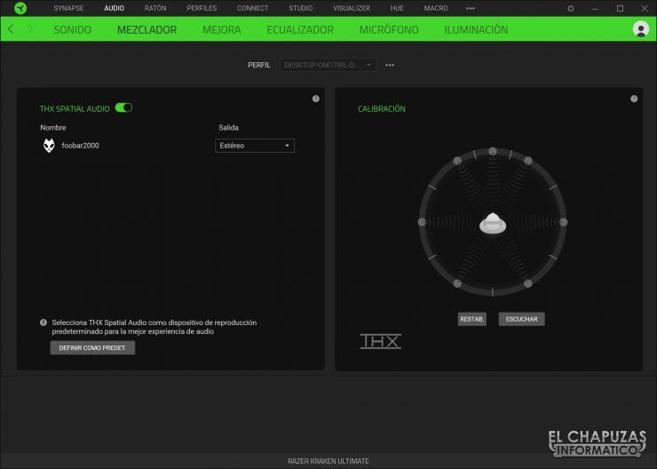 Razer Kraken Ultimate - Software 2