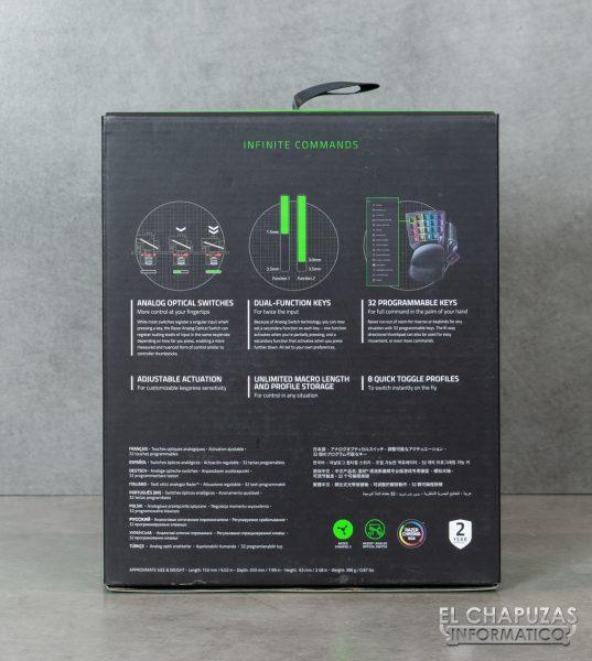 Razer Tartarus Pro - Embalaje 2