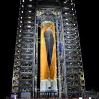 La NASA muestra su Space Launch System, «el cohete más poderoso jamás construido»
